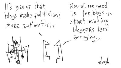 Politicians and blogging